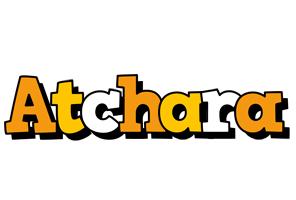 Atchara cartoon logo
