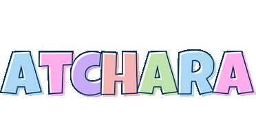 Atchara pastel logo