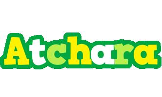 Atchara soccer logo