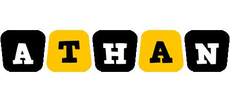 Athan boots logo