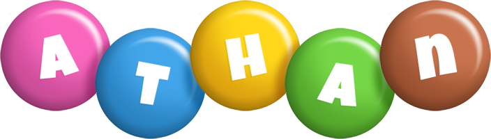 Athan candy logo