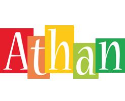 Athan colors logo