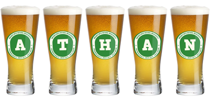 Athan lager logo