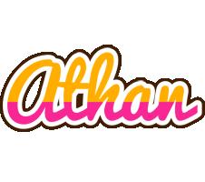 Athan smoothie logo