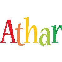 Athar birthday logo