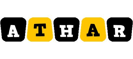 Athar boots logo