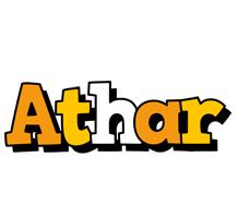 Athar cartoon logo