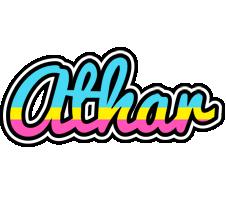 Athar circus logo
