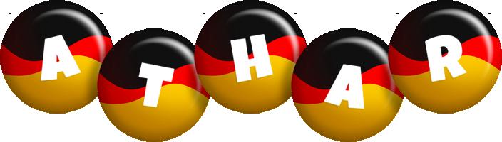 Athar german logo