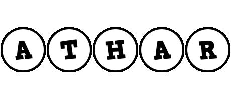 Athar handy logo