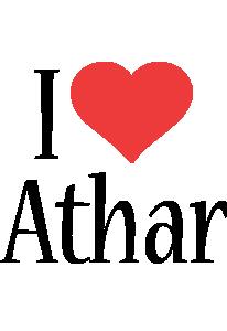 Athar i-love logo