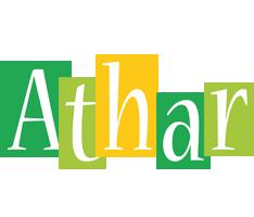 Athar lemonade logo