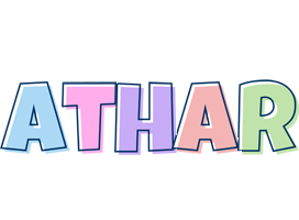 Athar pastel logo