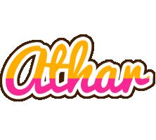 Athar smoothie logo