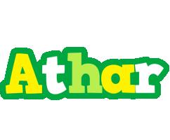 Athar soccer logo