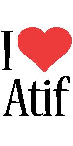 Atif i-love logo