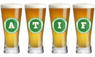 Atif lager logo