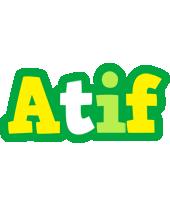 Atif soccer logo