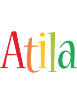 Atila birthday logo
