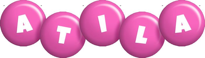 Atila candy-pink logo