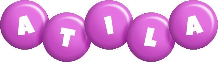 Atila candy-purple logo