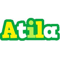 Atila soccer logo