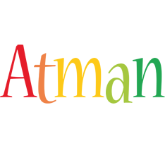 Atman birthday logo