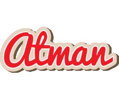Atman chocolate logo