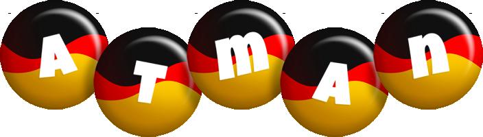 Atman german logo