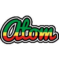 Atom african logo