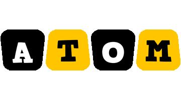 Atom boots logo
