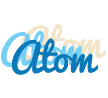 Atom breeze logo