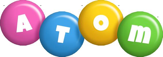 Atom candy logo