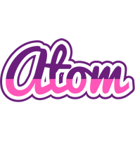 Atom cheerful logo