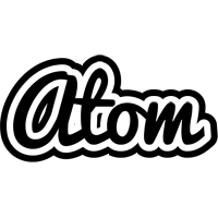 Atom chess logo