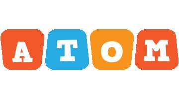 Atom comics logo
