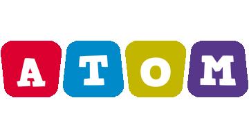 Atom daycare logo