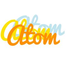 Atom energy logo