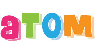 Atom friday logo