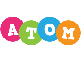 Atom friends logo