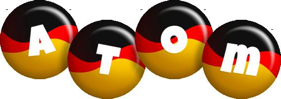 Atom german logo