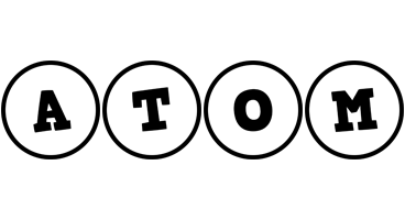 Atom handy logo