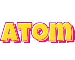 Atom kaboom logo