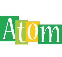Atom lemonade logo