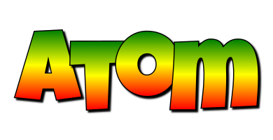 Atom mango logo