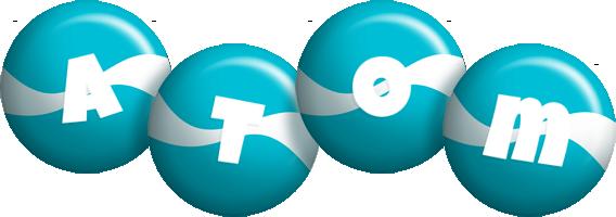 Atom messi logo