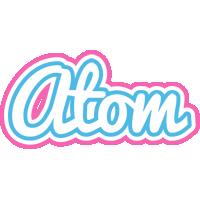 Atom outdoors logo