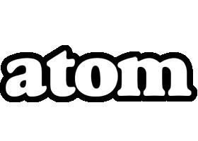 Atom panda logo