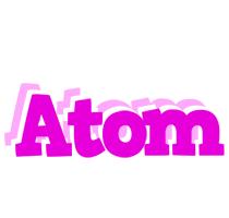 Atom rumba logo