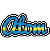Atom sweden logo